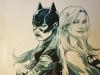 Dagnino Batgirl SUpergirl