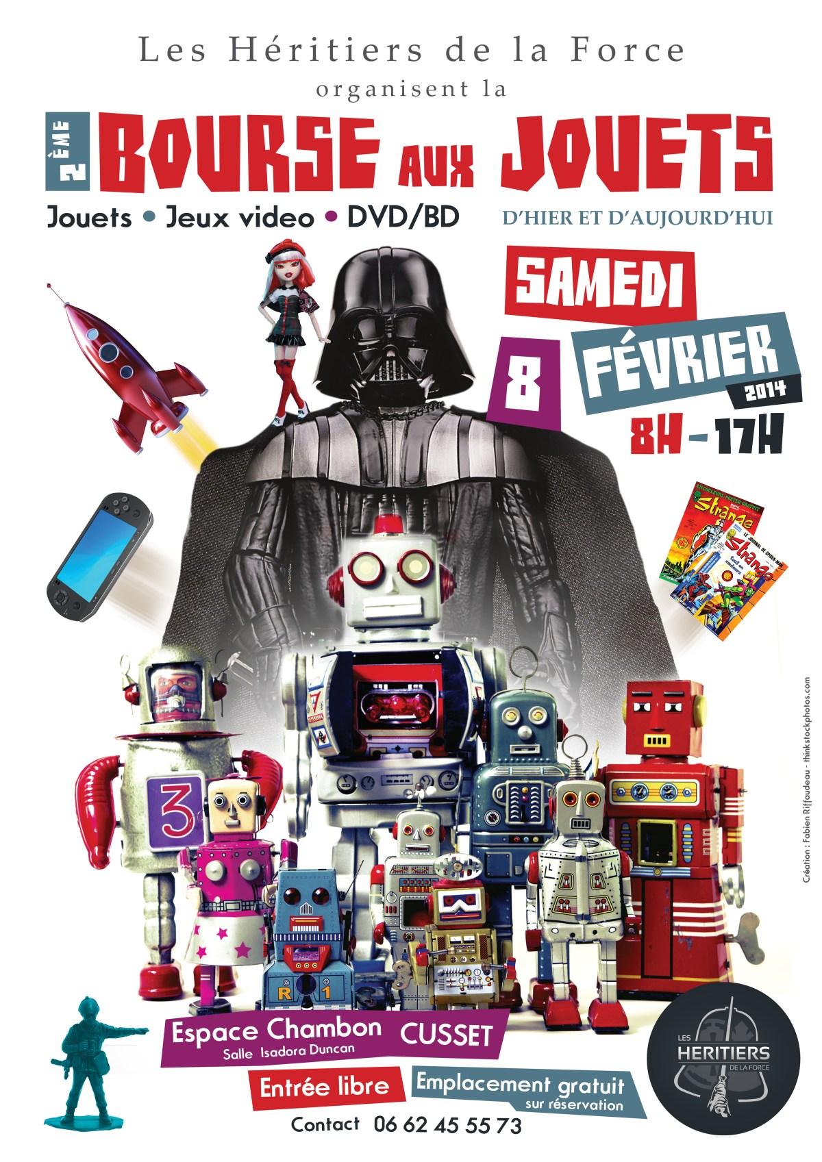 Affiche bourse aux jouets 2014