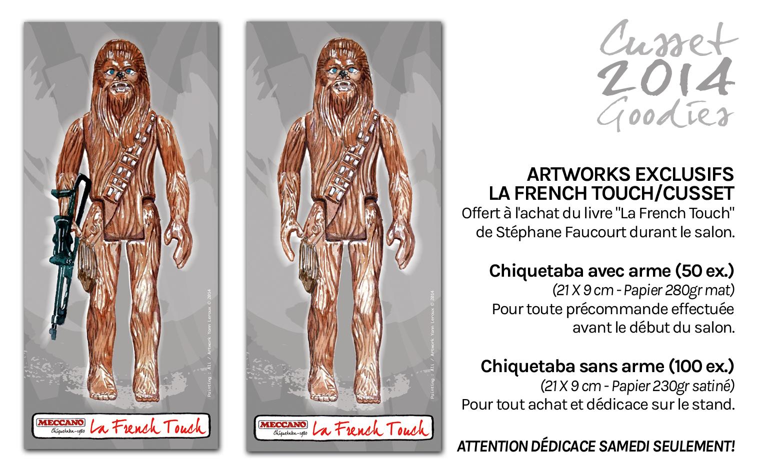 Flyer artwork Stéphane Faucourt