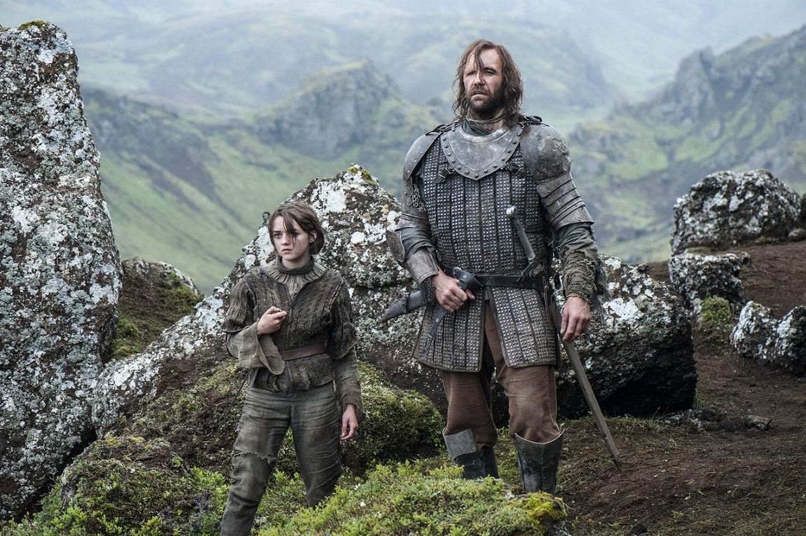 Arya Stark et le Limier