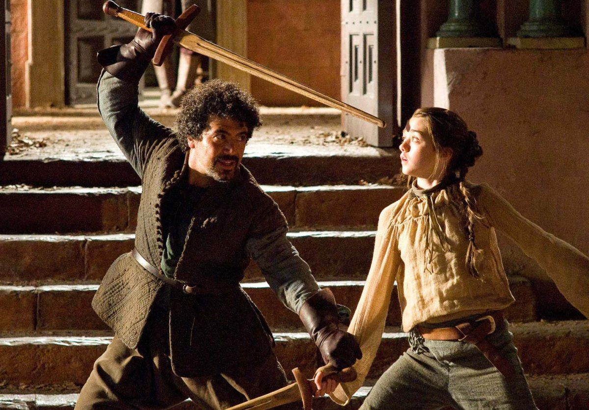 Game-of-Thrones-Syrio-Forel-Arya-Stark-Miltos-Yerolemou