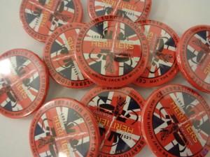 Badge Union Jack Celebration