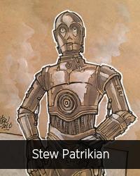 Miniature auteur 2017 Stew Patrikian