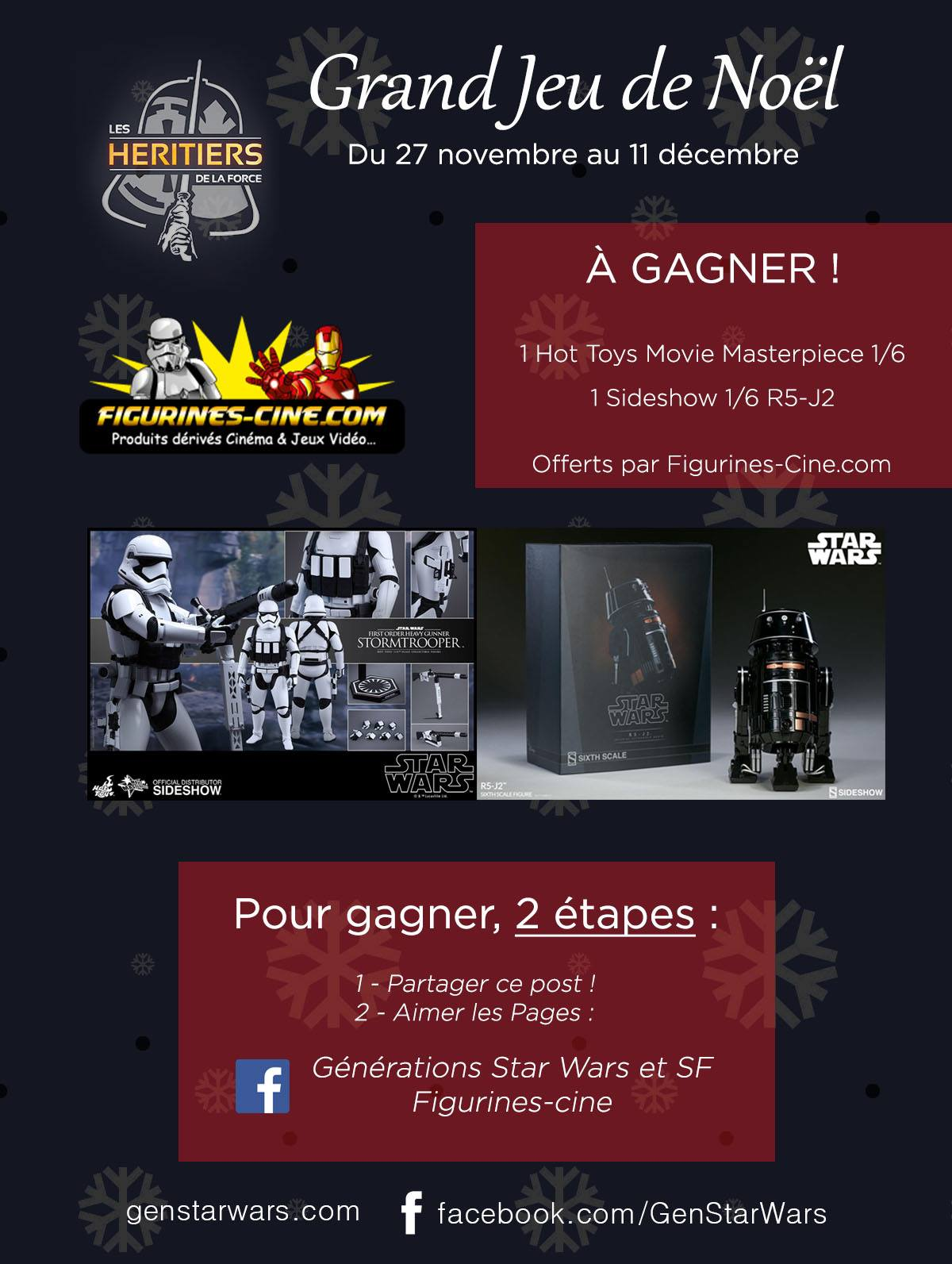 Concours Facebook Figurines Ciné 2017